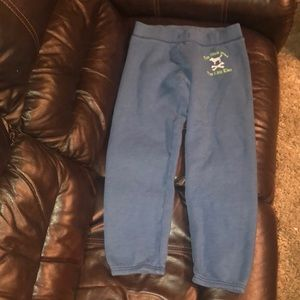 Women's size xtra small VS Pink old school capris
